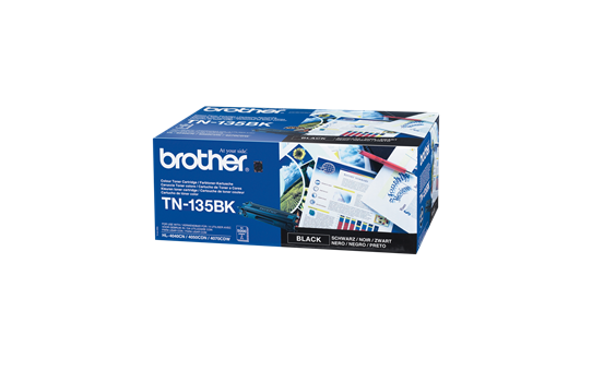Genuine Brother TN-135BK High Yield Toner Cartridge – Black