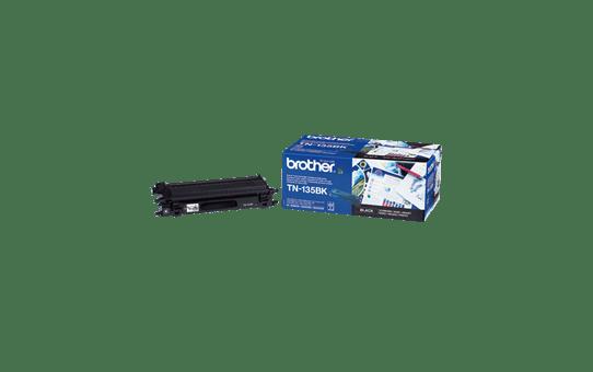 Оригинална тонер касета Brother TN135BK, с голям капацитет – черен цвят 2