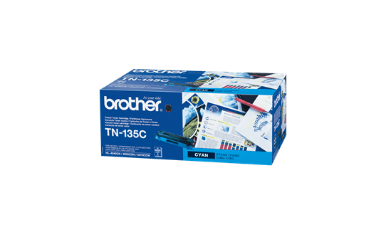 Genuine Brother TN-135C High Yield Toner Cartridge – Cyan
