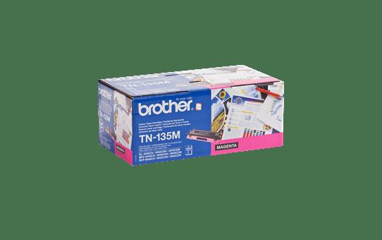 Originele Brother TN-135M hoge capaciteit tonercartridge – magenta