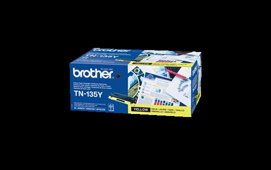 Brother TN135Y toner geel - hoog rendement 2