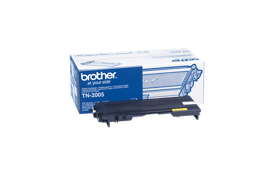 Genuine Brother TN-2005 Toner Cartridge – Black