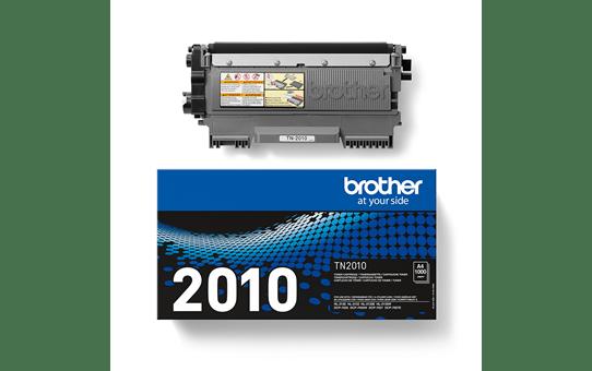 Brother TN2010 original tonerkassett- Svart 3