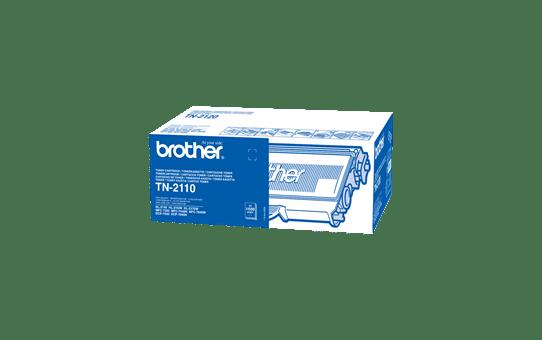 Original Brother TN2110 toner – sort
