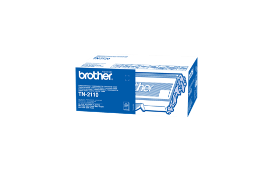 Original Brother TN2110 toner - sort
