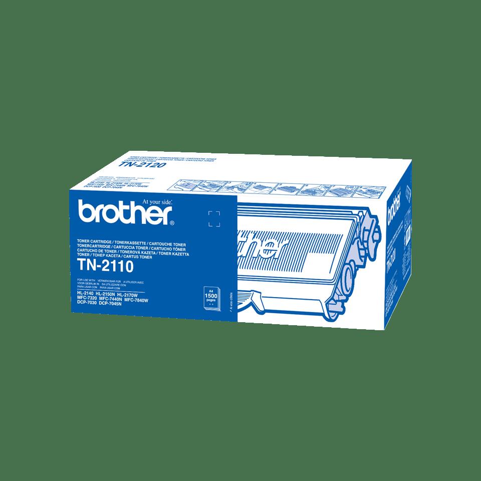 Cartouche de toner TN-2110 Brother originale – Noir