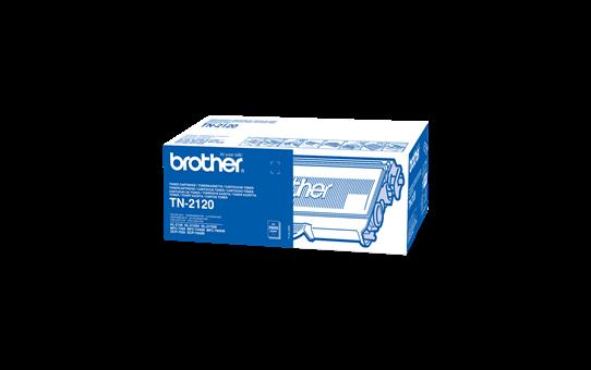 Brother TN2120 toner noir - haut rendement 2