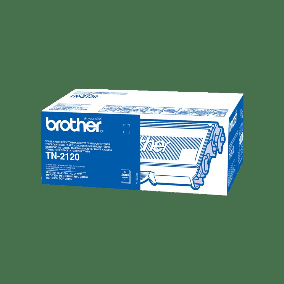 Brother TN-2120 Toner originale ad alta capacità