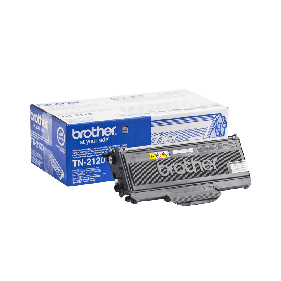 Cartouche de toner TN-2120 Brother originale à haut rendement – Noir 2
