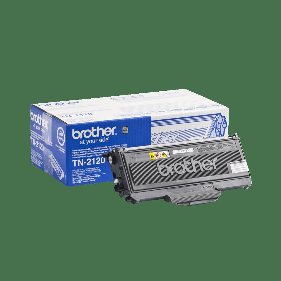 Brother TN2120 toner noir - haut rendement