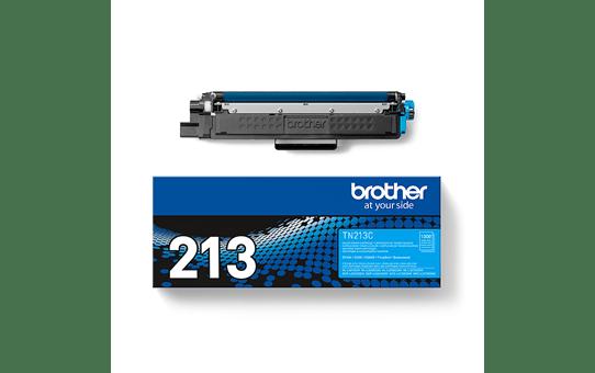 Оригинальный Brother TN213C тонер картридж – голубой 3