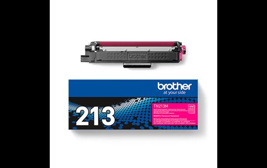 Оригинальный Brother TN213M тонер картридж – пурпурный 3