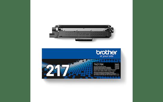 Оригинальный Brother TN217BK тонер картридж – черный 3