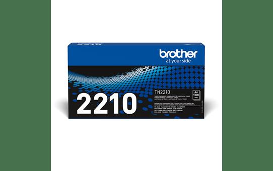 Genuine Brother TN2210 Toner Cartridge – Black