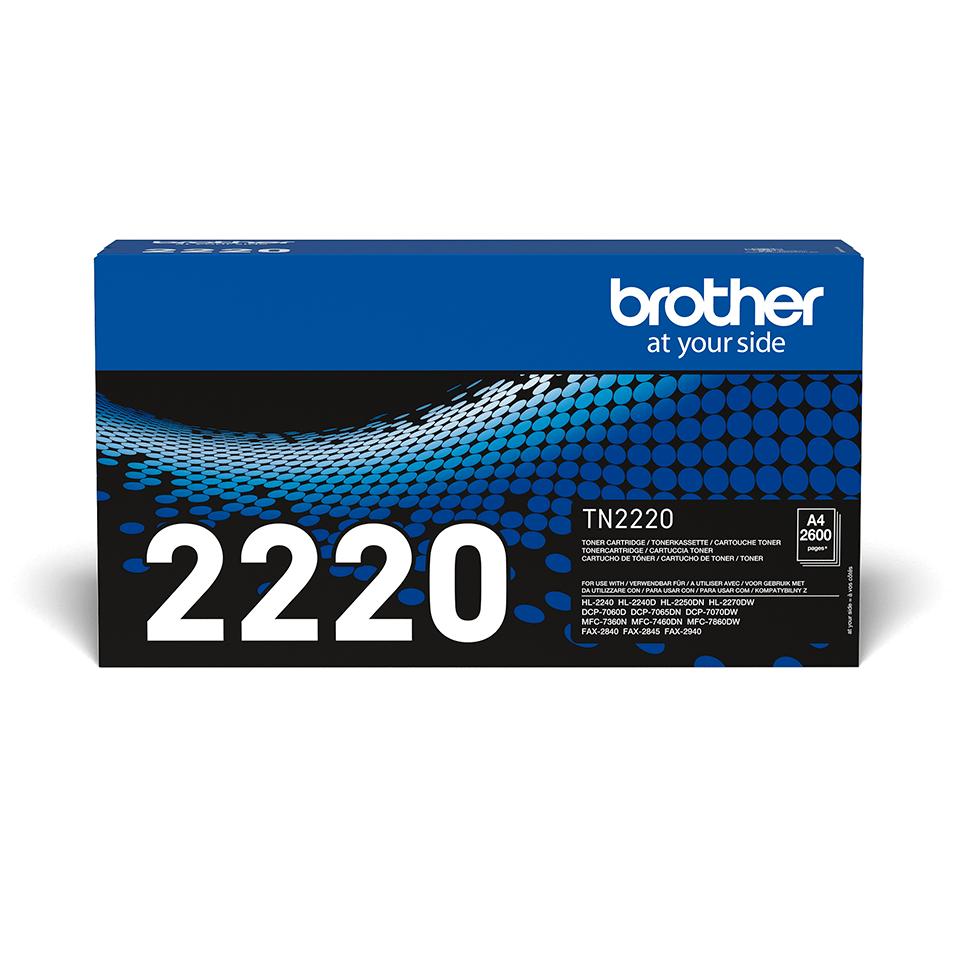 Toner preto TN2220 Brother