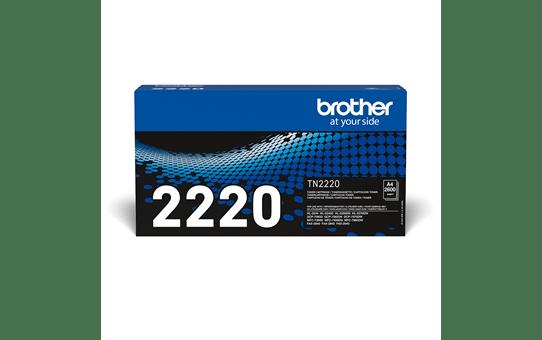 Eredeti Brother TN-2220 nagytöltetű tonerkazetta – Fekete