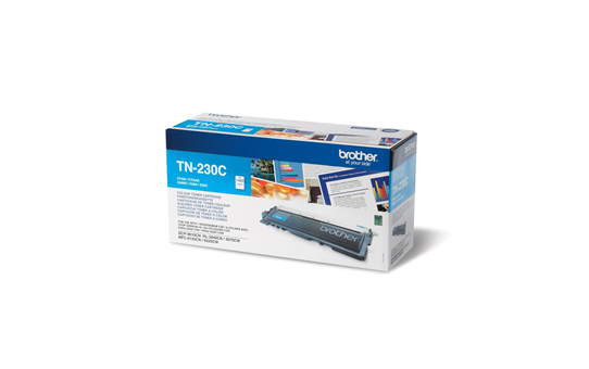 Brother TN230C toner cyan - rendement standard 2