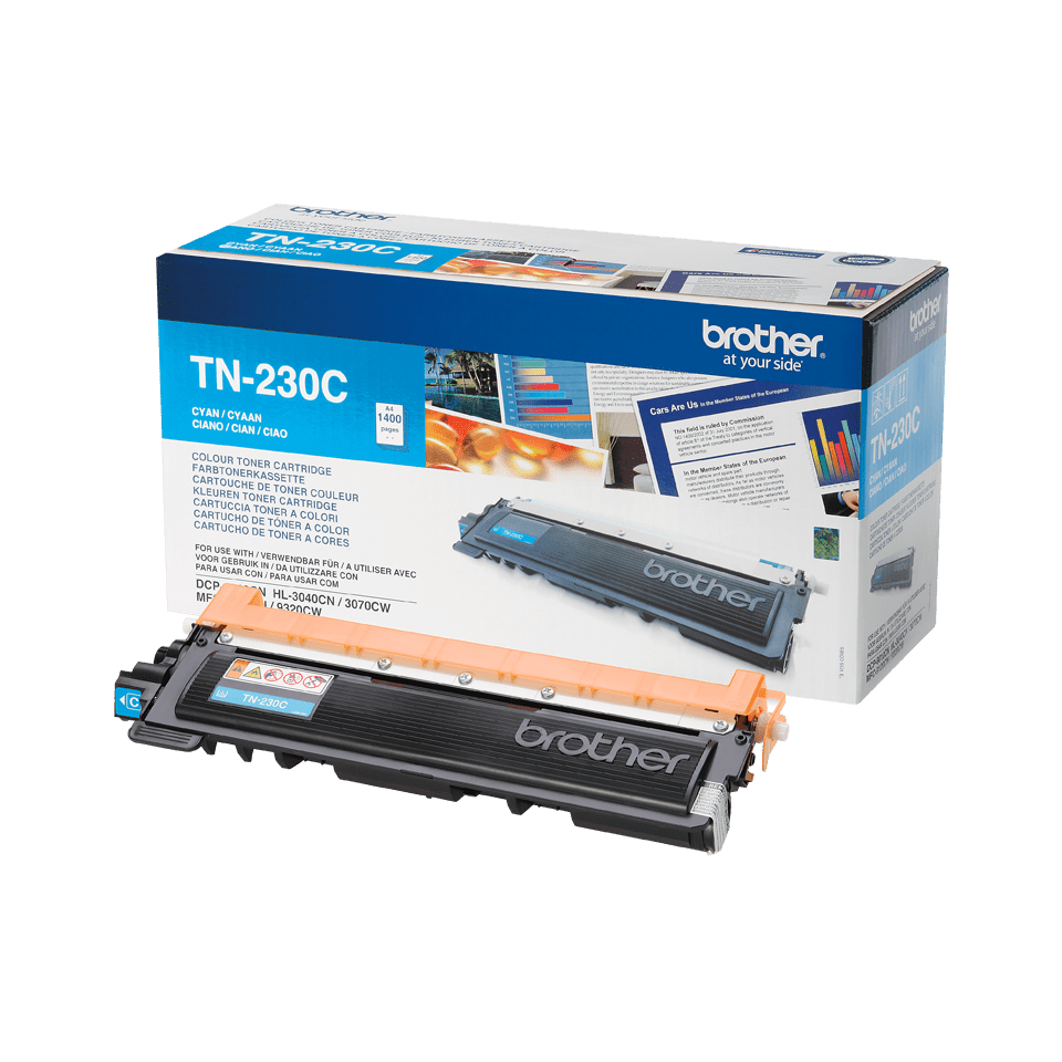 Genuine Brother TN230C Toner Cartridge – Cyan 2