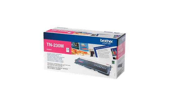 Originele Brother TN-230M magenta tonercartridge 2