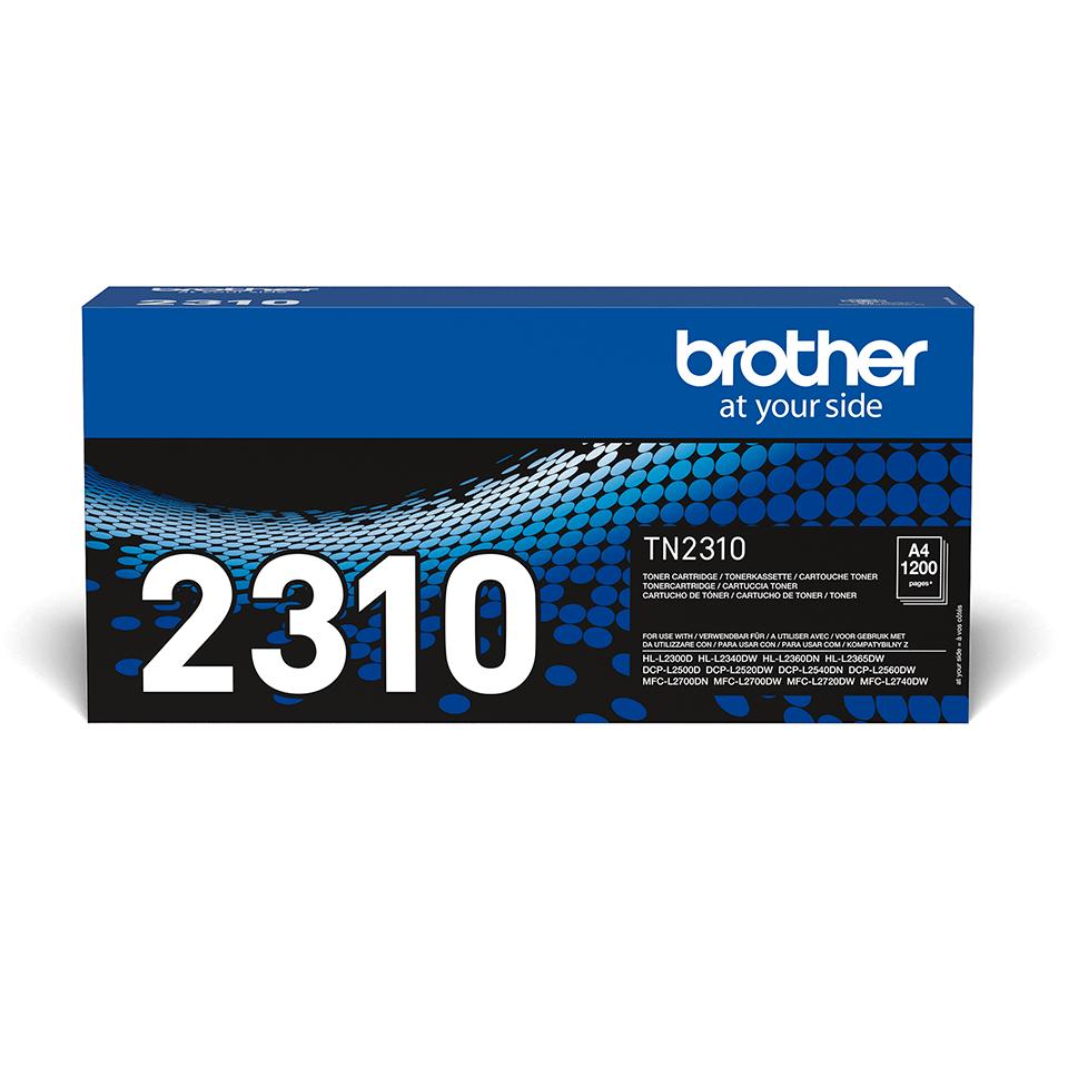 Oryginalny czarny toner TN-2310 firmy Brother
