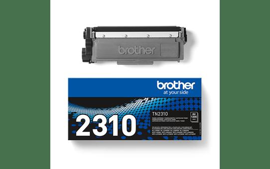 Originali Brother TN2310 dažų kasetė – juodos spalvos 3