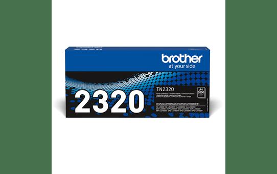 Genuine Brother TN2320 High Yield Toner Cartridge – Black