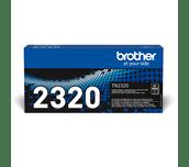 Oriģinālā Brother TN2320 augsta ražīguma krāsas tonera kasetne - melna.