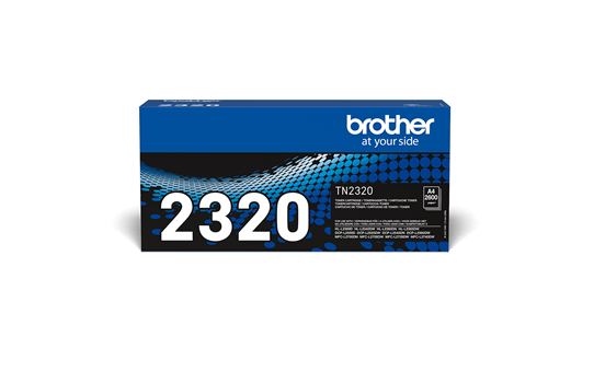 Genuine Brother TN-2320 High Yield Toner Cartridge – Black