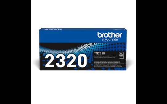Eredeti Brother TN-2320 nagytöltetű toner – Fekete