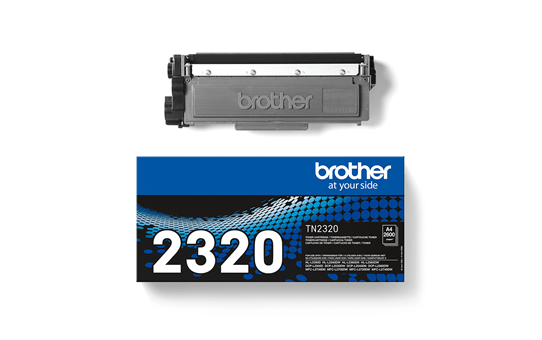 Brother TN2320 original høykapasitet toner sort 3