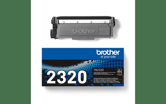 Brother TN2320 original tonerkassett – svart 3