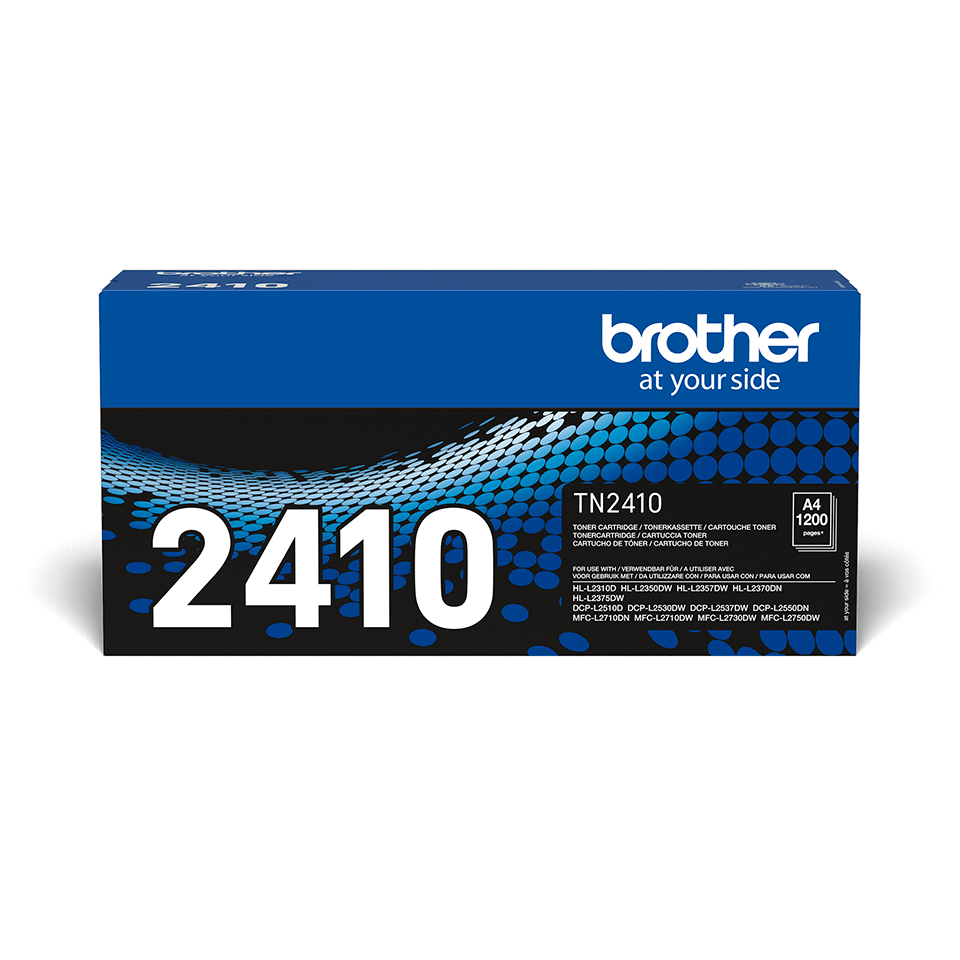 Tóner negro TN2410, Brother