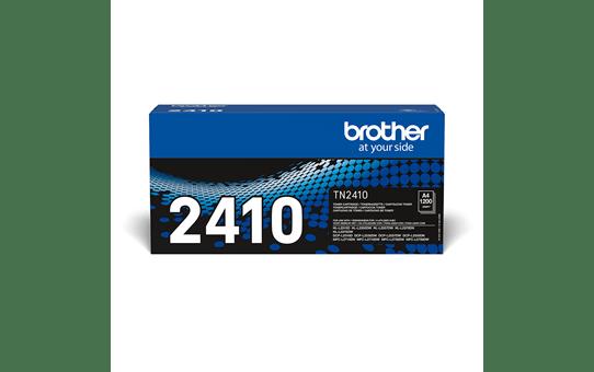 Original Brother TN2410 toner - sort