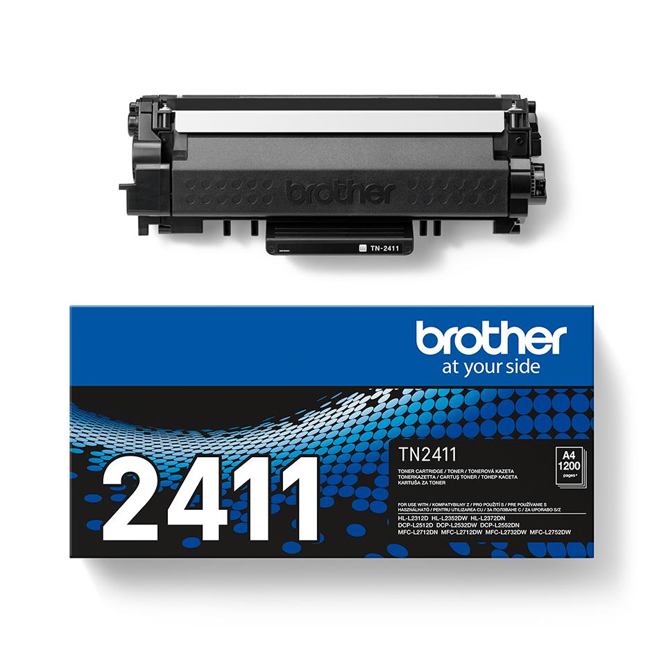 Оригинална черна тонер касета Brother TN-2411 2