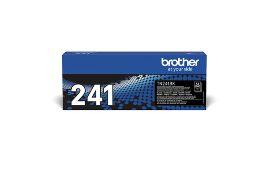 Genuine Brother TN-241BK Toner Cartridge – Black