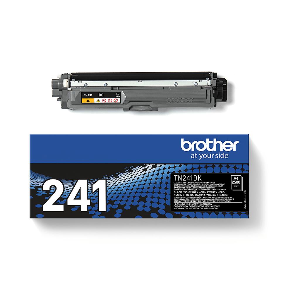 Originele Brother TN-241BK zwarte tonercartridge 3