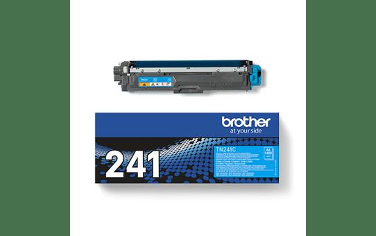 Оригинальный тонер-картридж Brother TN-241С – Голубой 4
