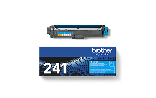 Genuine Brother TN241C Toner Cartridge – Cyan 4