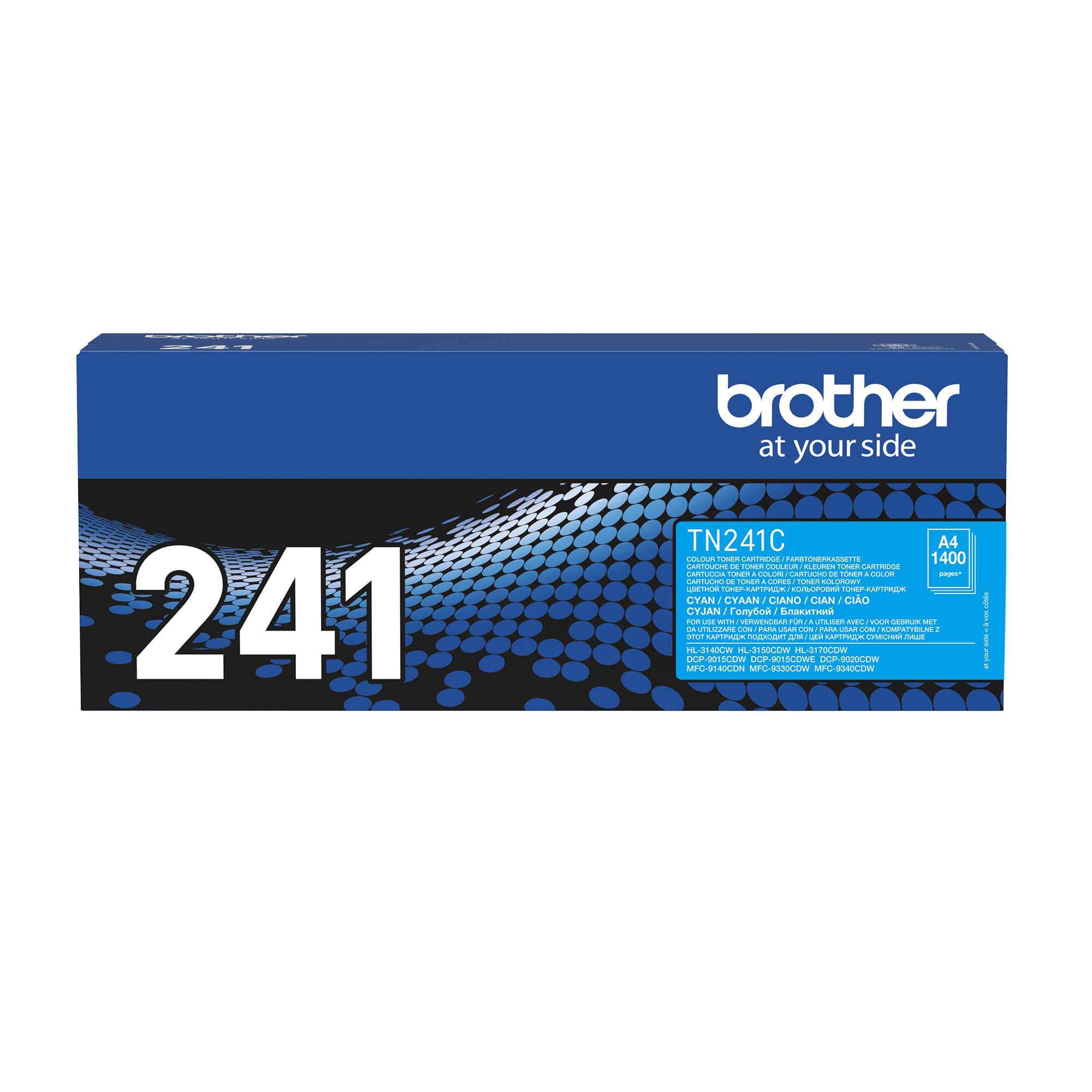 Brother TN241C toner cyan - rendement standard 2