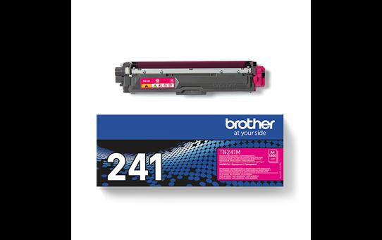 Oriģinālā Brother TN241M tintes kasetne – fuksīna krāsā  3