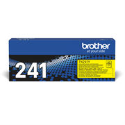 TN241Y Brother genuine toner cartridge pack front image
