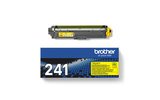 Genuine Brother TN-241Y Toner Cartridge – Yellow 3