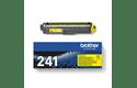 Oriģinālā Brother TN241Y tintes kasetne – dzeltenā krāsā  3