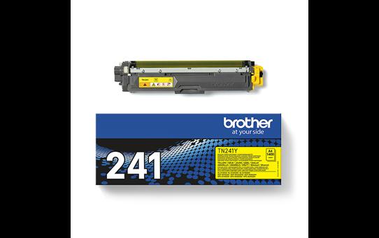 Brother TN-241Y Toner standard originale - giallo 3