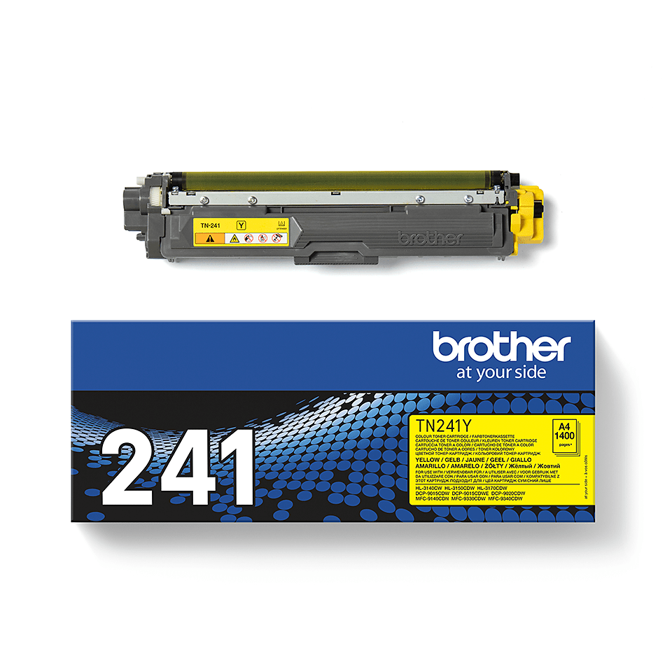 Brother TN241Y toner jaune - rendement standard 3