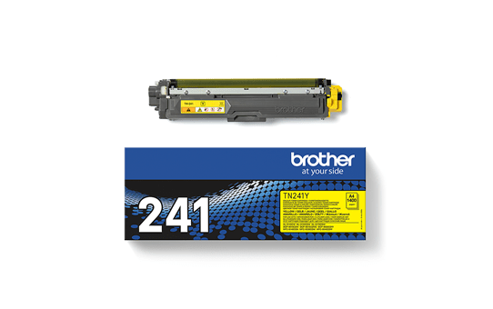 Оригинална тонер касета Brother TN241Y – жълт цвят 3