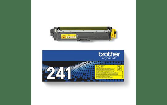 Original Brother TN241Y toner – gul 3