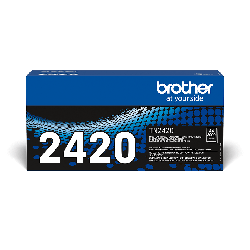 Tóner negro TN2420, Brother