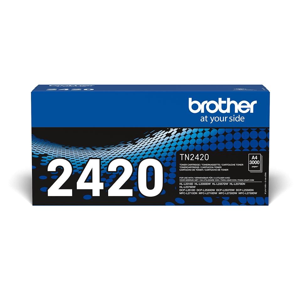Genuine Brother TN-2420 Toner Cartridge - Black