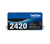 TN2420 Brother genuine toner cartridge pack front image